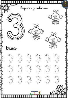 Math Equations, Education, Words, Numbers Preschool, Preschool Math Activities, Preschool Printables, Initials, Teaching, Educational Illustrations