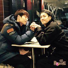 Seo kang joon and Jackson😍 Got7 Jackson, Jackson Wang, Seo Kang Joon, Kang Jun, Drama Korea, Korean Drama, Korean Celebrities, Korean Actors, Seung Hwan