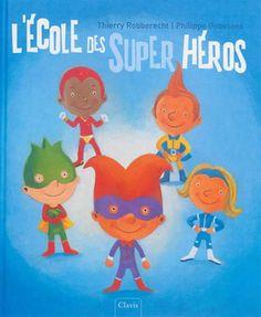 A l'école des super héros, tous les élèves ont un don particulier. Tous sauf Henri, qui doit faire preuve d'imagination pour ressembler à ses camarades.