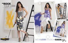SUEDEsays™ New Look Studio spread.