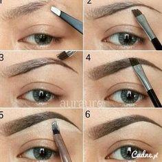 Make Up; Make Up Looks; Make Up Augen; Make Up Prom;Make Up Face; Eyebrow Makeup Tips, Makeup Tricks, Makeup Kit, Makeup Ideas, Diy Makeup, Eyebrow Pencil, Makeup Application, Contour Makeup, Prom Makeup