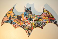 Batman Wall Logo Plaque made to order by helloskywalker on Etsy