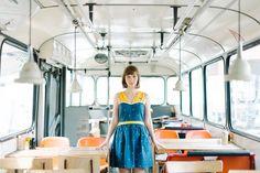 Blue & yellow dress - Kittenhood