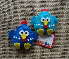 Mães Amigas: Decoração festa Infantil - Galinha Pintadinha Felt Crafts, Easter Crafts, Christmas Crafts, Diy Crafts, Art Of Charm, Lottie Dottie, Sewing Projects, Projects To Try, Chicken Crafts