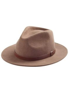 a3843578b35 Messer Fedora Product Image Wide-brim Hat