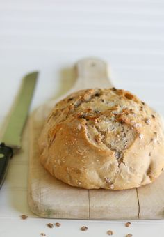 English Granary Bread. I love all the Artisian Bread in Five Minutes a Day books. I have them all and I love their blog as well. There is nothing better than fresh bread!