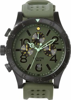 Men's gift pick: Nixon The 48-20 Chrono PU Watch http://www.swell.com/New-Arrivals-Mens/NIXON-THE-48-20-CHRONO-PU-WATCH?cs=SU