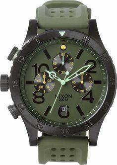 Men's gift pick: Nixon The 48-20 Chrono PU Watch http://www.swell.com/New-Arrivals-Mens/NIXON-THE-48-20-CHRONO-PU-WATCH?cs=SU