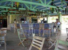 Bugaloe's Beach Bar and Grill, Aruba.  Live music, laid back, awesome food.  <3