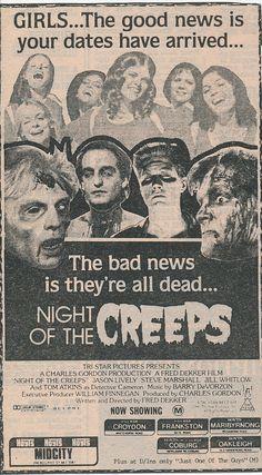 Fred Dekker's highly enjoyable horror comedy. 1987