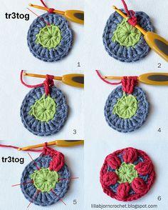 Circles of the sun CAL - Block 2 - Deutsch! Häkeln, stricken und nähen mit Libminna!