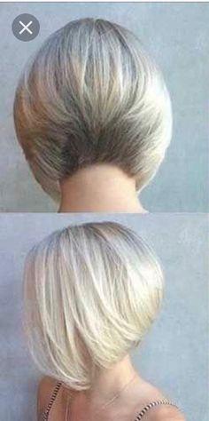 Layered Bob Thick Hair, Short Hair With Layers, Short Hair Cuts For Women, Short Hair Styles, Pixie Haircut For Thick Hair, Short Choppy Hair, Bob Hairstyles For Fine Hair, Hair Cutting Techniques, Hair Highlights