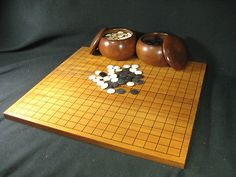 Traditional Japanese Go gameboard
