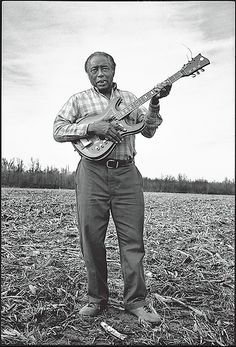 R.L. Burnside- one of my all-time favorite blues masters. His voice was the sound of the fields he plowed, the women he loved, the people he lost along the way