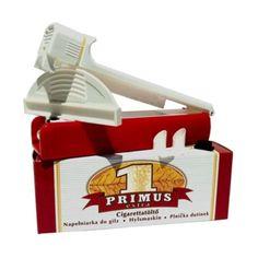 Aparat de injectat tutun Primus Extra - este un aparat manual pentru injectat tutun in tuburi tigari; culoare injector: rosu cu alb; se foloseste pentru tuburi tigari de lungime standard. Pentru comenzi si alte detalii: www.tuburipentrutigari.ro