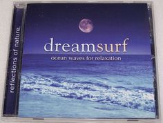 Dream Surf CD Ocean Waves for Relaxation by Nature's Relaxing Sounds #NaturalSoundsOceanWaves