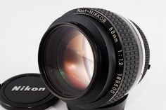 「Rare」 Nikon NOCT-Nikkor AI-S 58mm F/1.2 Excellent from Japan | eBay