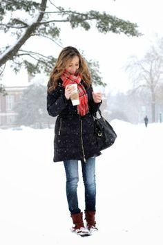 Campus style for cold weather