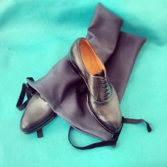 Shoes entirely hand made by Olivia Monteforte