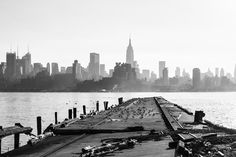 Manhattan Views Hoboken New York. Purchase this print in a beautifully prepared frame.  http://www.nikartphotography.com/