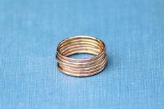 Skinny Rose Gold Ring Stacker ring Stacking ring Dainty