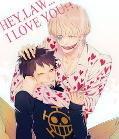 Corazon and Law this makes my heart hurt thinking about all that poor Law has been through