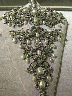 Bavarian Royal Jewels - Diamond and Pearl Stomacher