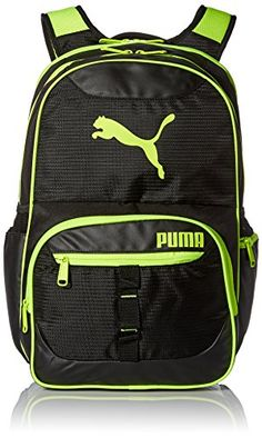 PUMA Mens Acumen 195 Backpack BlackYellow >>> You can find out more details at the link of the image.
