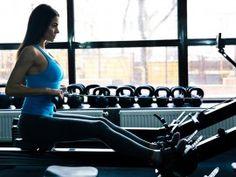 20-minutowy trening na ergometrze wioślarskim Gym Equipment, Health, Fitness, Women, Health Care, Workout Equipment, Salud, Woman