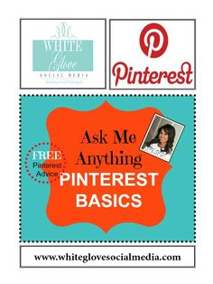 """★Post any questions you have about """"PINTEREST BASICS"""" in the comment box. ★Please read the board description on how you'll receive FREE #Pinterest coaching right here!★"""
