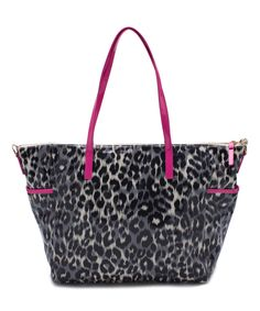 Look at this Kate Spade Leopard Daycation Adaira Diaper Bag on #zulily today!