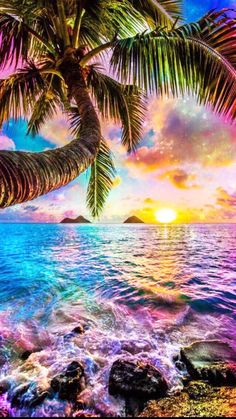 53 ideas for wallpaper paisagem por do sol Ocean Wallpaper, Rainbow Wallpaper, Summer Wallpaper, Cute Wallpaper Backgrounds, Pretty Wallpapers, Galaxy Wallpaper, Wallpapers Of Nature, Aesthetic Wallpapers, Nature Pictures