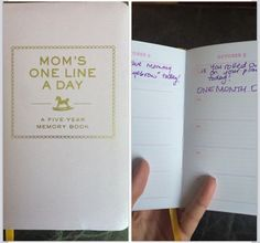 Amazon - 5 year memory book