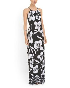 image of Floral Chain Maxi Dress