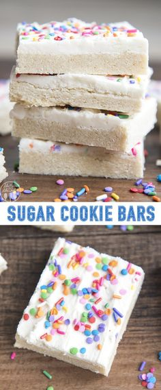 These sugar cookie bars are so much better than traditional sugar cookies. They are rich thick and so soft without any chilling rolling or cutting the dough! Chocolate Chip Cookies, Pumpkin Sugar Cookies, Chocolate Brownie Cookies, Cookie Brownie Bars, Sugar Cookies Recipe, Chocolate Flavors, Sugar Cookie Cheesecake, Chocolate Oreo, Oreo Dessert