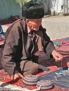 Tolkuchka Market, Turkmenistan