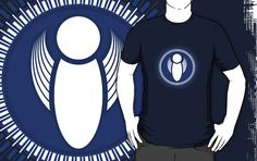 """Angel 4 - blue"" T-Shirts & Hoodies by Soul Structures"