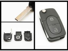 Replacement Audi A2 A3 A4 A6 A8 2 Button KEY FOB REMOTE CASE SHELL