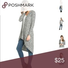 [chinamum] Beautiful cardigan sweater  Colors available: gray Sizes: Small, Medium, Large, XLarge Fabric: 87% polyester, 10% rayon, 3% spandex🇺🇸  Condition: New with tags  Please ask all questions before purchase.  Bundle Discount: 10% on 2+ items.  Typically ships within 24 hours.   Follow along on Instagram, Snapchat, Twitter & Facebook: @flowersandgray  xo, Jess Flowers and Gray Sweaters Cardigans