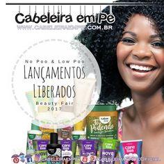 """Sabia que tem uma segunda edição de Lançamentos Liberados da Beauty Fair no CabeleiraEmPe.com.br?  São produtos para seus cabelos livres de todos os """"proibidões""""! Tem produtos liberados para No Poo e Low Poo da @salonlinebrasil  Care Liss da @clesscosmeticos  @inoarbrasil  @labellalissoficial  @bioextratus  e @haskelloficial .  #cabeleiraempe #lowpoo #nopoo #cowash #blackpower #crespodivino #afro #encrespa #afropower #amomeucrespo #encrespando"""