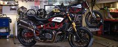 Indian Motorcycle sella alianza con Roland Sands para equipar la FTR 1200 | Motoqueros.Cl Motocross, Roland Sands, Motorcycle, Indian, Carbon Fiber, Motorcycles, Dirt Biking, Dirt Bikes, Motorbikes