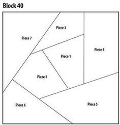 crazy quilt block pattern   Quilting   Pinterest