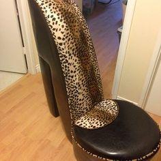 Superieur Cheetah High Heel Chair U003c3