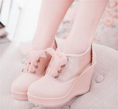 Lovely pink shoes