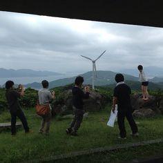 風車をバックにモデル撮影会 #30jidori  再投稿 @ 千畳敷 instagram.com/p/aUidR4Gasp/
