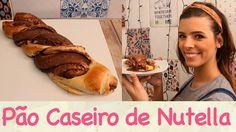 PÃO CASEIRO de NUTELLA para o Natal!! | TPM, pra que te quero?