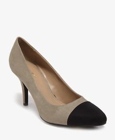 $25 Contrast Toe Pumps | FOREVER21 - 2030187542