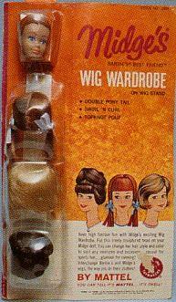Wigs wardrobe for Midge 2 Play Barbie, Barbie And Ken, Barbie Stuff, Buffy, Barbie Wardrobe, Devon, Barbie Diorama, Dawn Dolls, Barbie Family