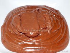 A comer y a callar: CREMA PASTELERA DE CHOCOLATE, CON THERMOMIX