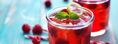 Raspberry Jam Gin Fizz Recipe - Steep Thoughts - Using tea from ...